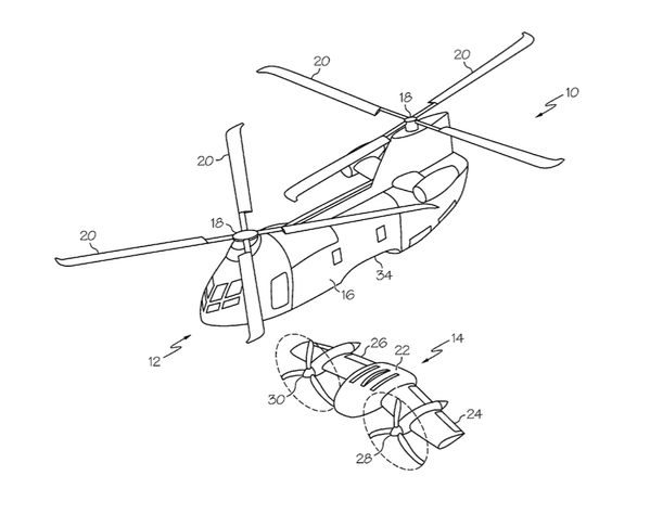 Boeing seeks patent on a helicopter-airplane — with the
