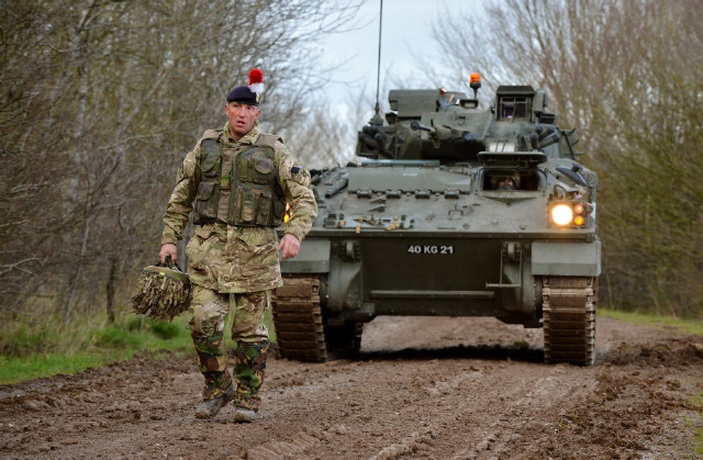 Over 800 Vehicles Take Part In UK Exercise Exercise