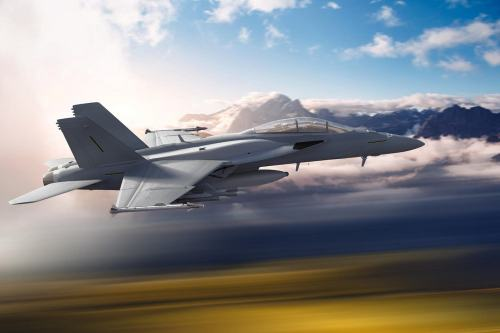 small resolution of u s aerospace manufacturer boeing co has unveiled the concept of future f a 18 block iii super hornet fighter aircraft during sea air space 2019