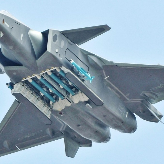 China's J-20 fighter can get 'beastly' if it has to