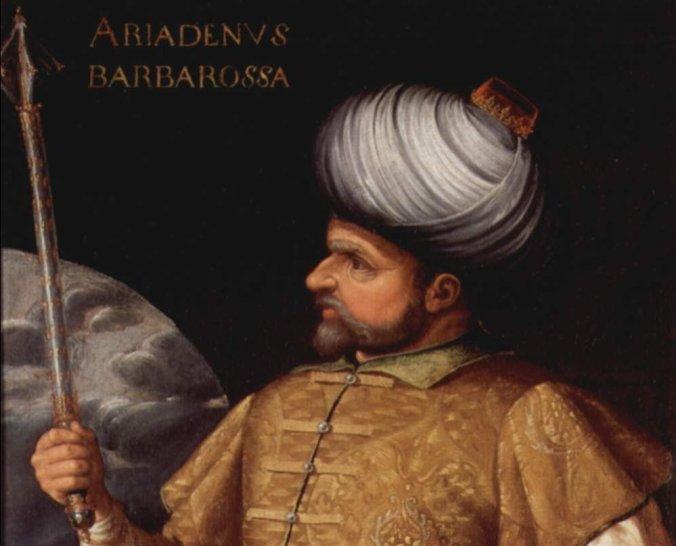 Admiral Hayreddin Barbarossa