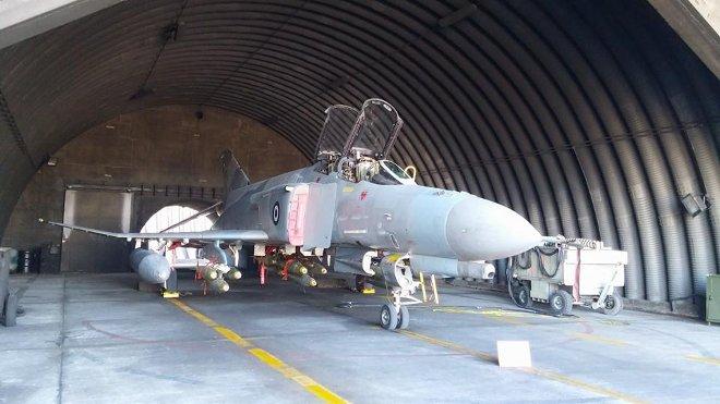 Η 338 Μοίρα Διώξεως - Βομβαρδισμού που εκτέλεσε τις βολές με τη χρήση βομβών γενικής χρήσεως Mk-82, απέδειξε για μια ακόμα φορά το υψηλό επίπεδο εκπαίδευσης και ετοιμότητας της ΠΑ.