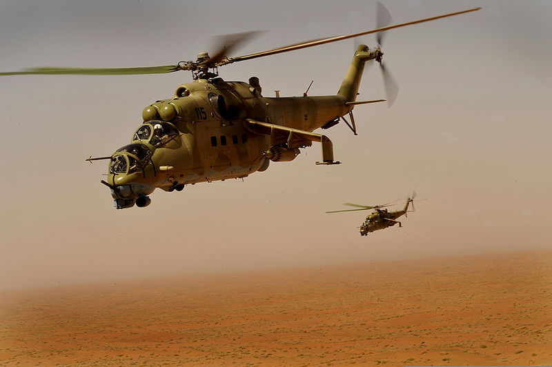 800px-Afghan_Air_Corps_Mi-35_helicopters