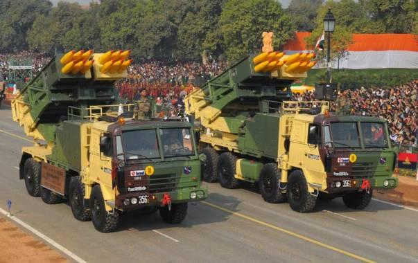 pinaka-multi-barrel-missile-launcher