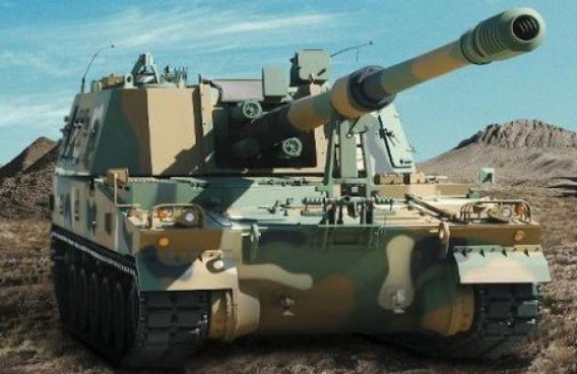 Image result for made-in-hazira-k-9-vajra-tank