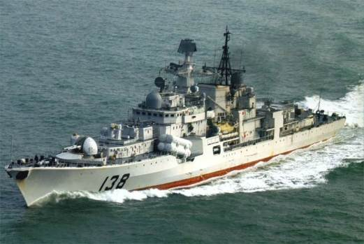 Modernized and modified export variant of Sovremnny class built for China.