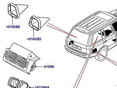 Каталог запчастей Land Rover Range Rover (L322), Microcat