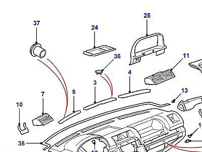 Каталог запчастей Land Rover Range Rover (P38), Microcat