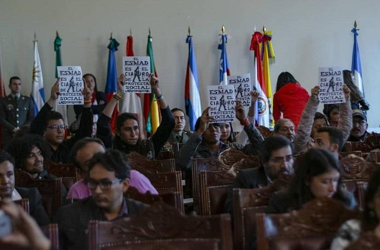 Audiencia Pública Garantías del Derecho a la Protesta Social en Colombia