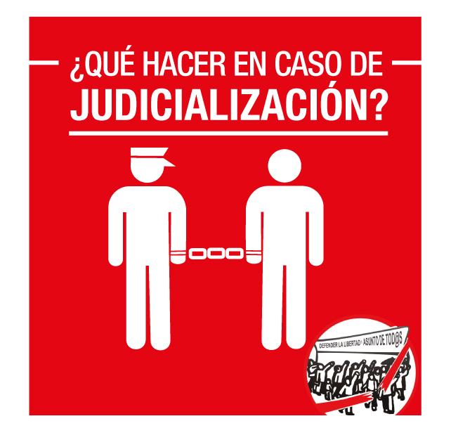 ¿Qué hacer en caso de judicialización?