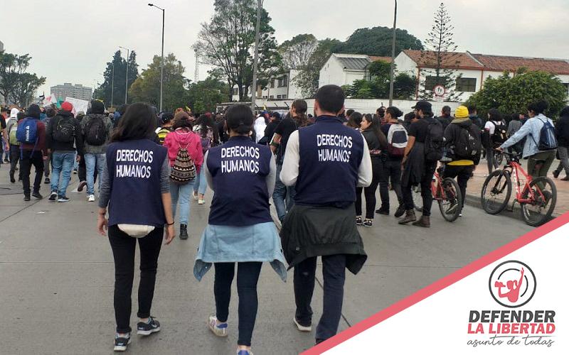 Activación de Alerta Temprana Preventiva sobre situación de riesgo de violaciones de derechos humanos: Paro Nacional 21E