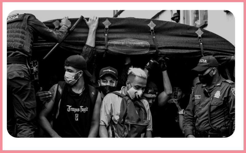 Boletín sobre las agresiones perpetradas por la fuerza pública En Medellín el 1 de mayo de 2021