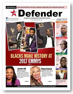Sept. 21 Houston Defender