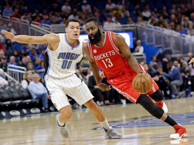 Rockets Magic Basketball
