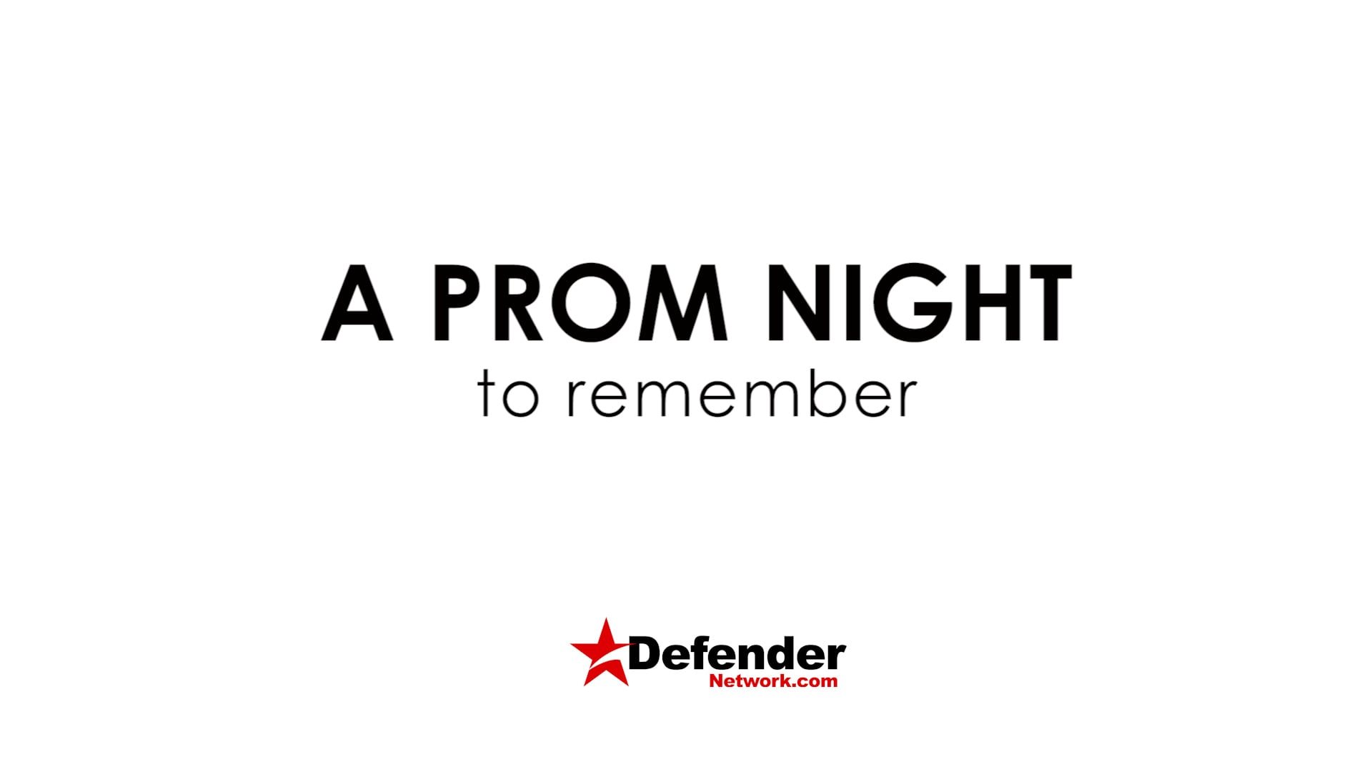 Defender Experience: A Prom to remember 2018