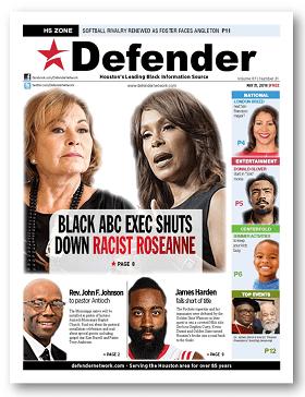 Houston Defender May 31, 2018 Roseanne Barr