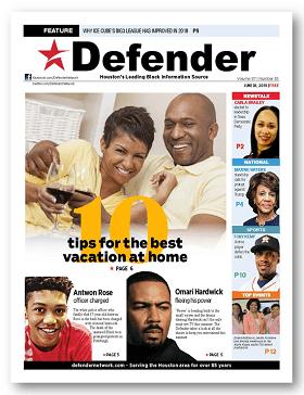 Houston Defender June 28 2018