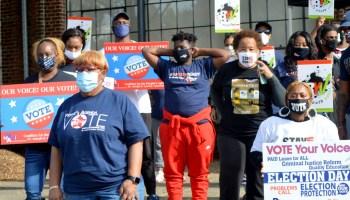 Voter suppression efforts galvanizing volunteers nationwide for critical GA Senate runoffs