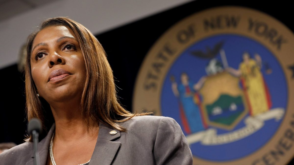 NY AG Letitia James preparing 'long list' of Trump initiatives to undo
