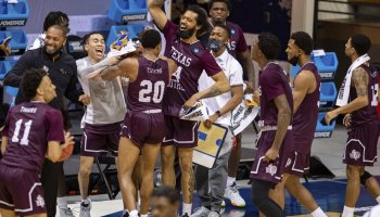 Texas Southern outlasts Mount St. Mary's for NCAA Tournament win