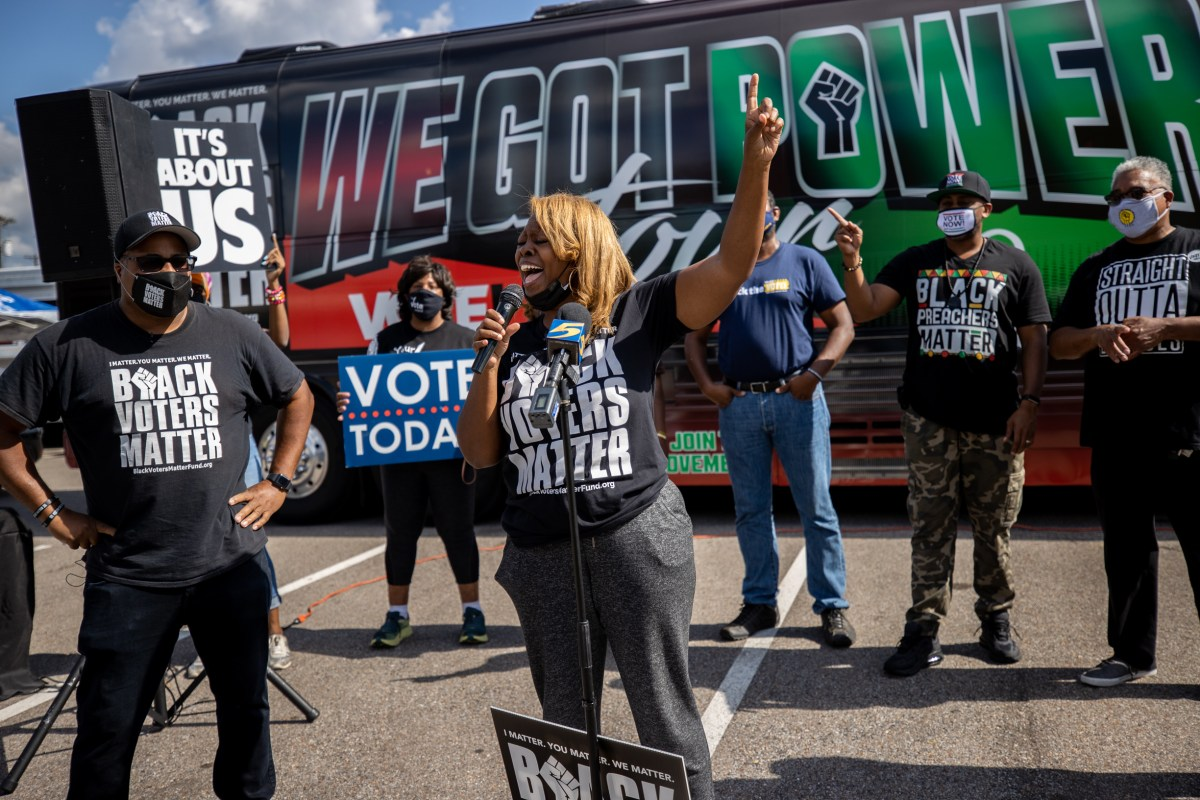 Black Voters Matter, local groups to target TX businesses for supporting voter suppression bill