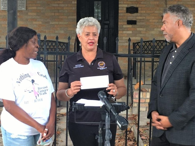 HAUL, C/M Carolyn Evans-Shabazz stop evictions with $20K for 3rd Ward residents