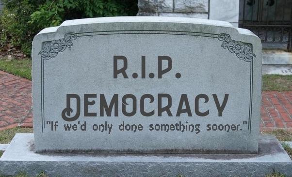 Democracy at death's door: Message from Associate Editor Aswad Walker