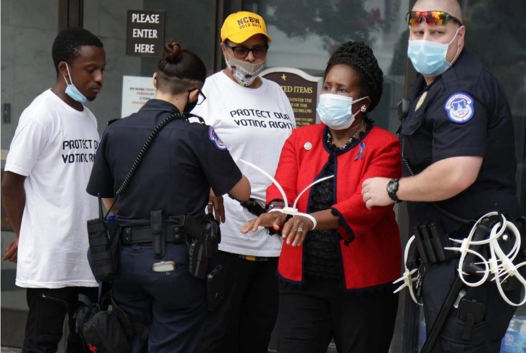 Arrested: Lawmakers vow to continue to fight for voting rights