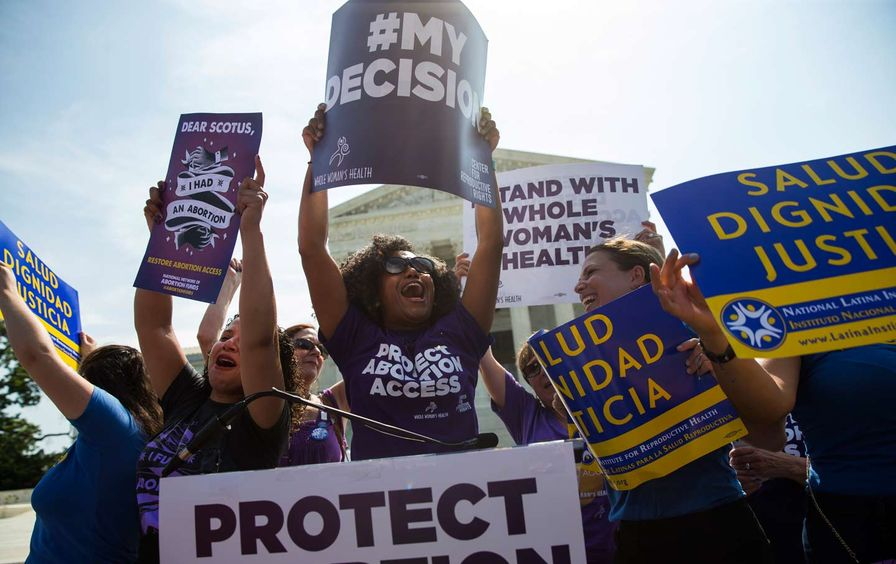 Texas abortion law temporarily blocked by a federal judge