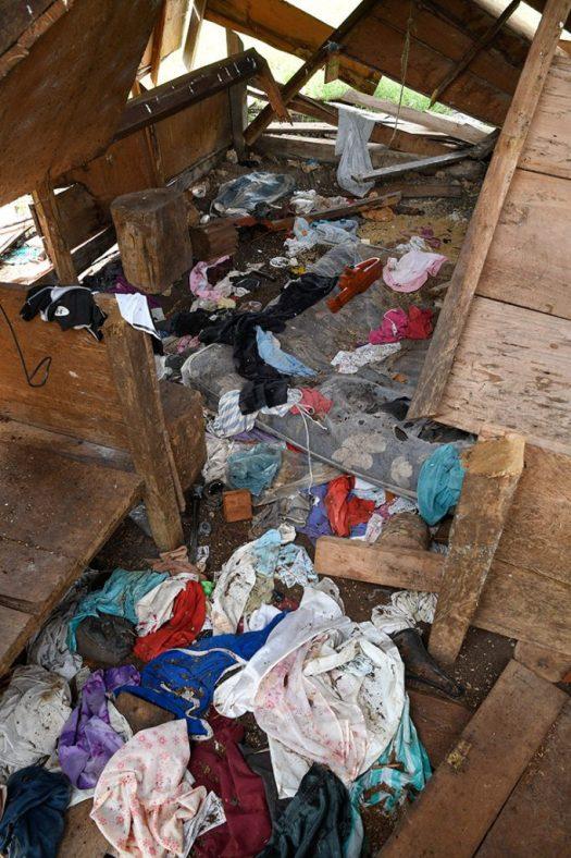 Una casa saqueada por el Estado
