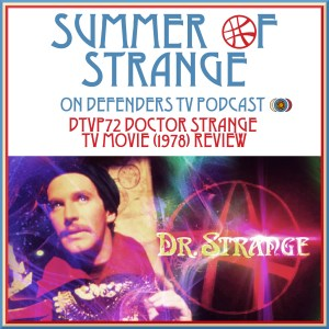 DTVP72 SoS Doctor Strange TV Movie 1978 Review