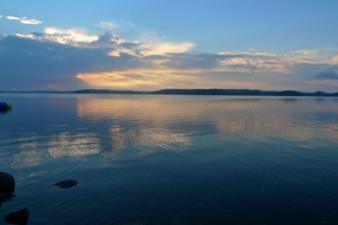 Sunset at Tiveden