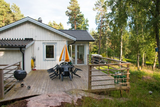 "our ""home"" on Ljusterö"