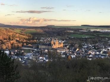 Echternach from above