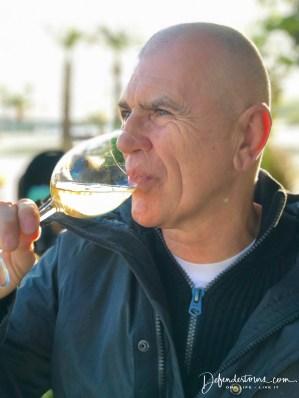 Tasting Alta Alella's PB wine