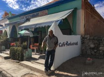 Hassan, owner of the other Cafe in Abaynour