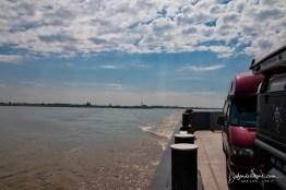 Crossing the Elbe river
