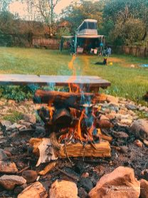 BBQ on the open fire