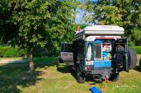 Packing up in Moravsce Toplice