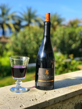 our last bottle of Pfaffmann Pino Noir