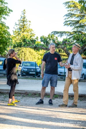 playing Boule in St. Quentin al Poterie