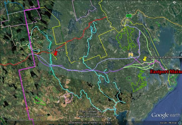 eastern route options 1-30-13