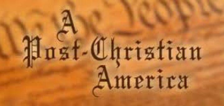 post-christian america