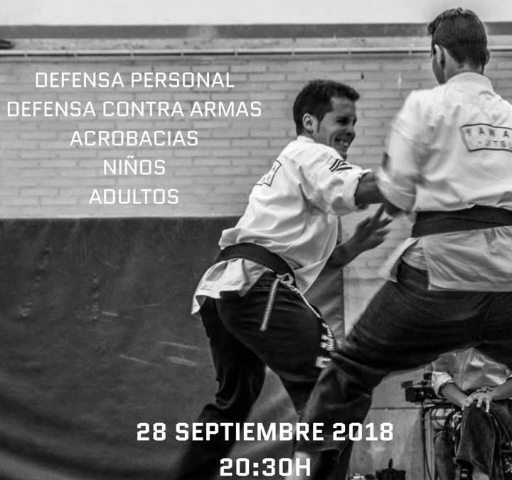 Exhibición Club Warriors (Septiembre 2018)