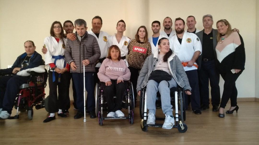 Yawara-Jitsu Adaptado para personas con discapacidad