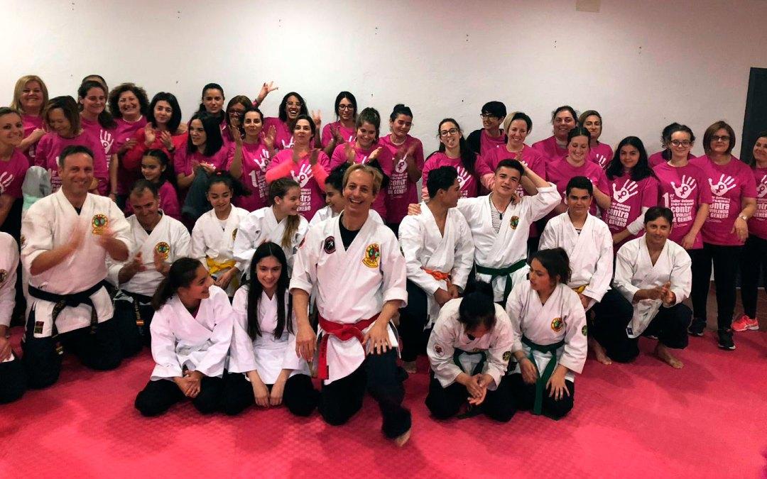 Crónica cursos defensa personal femenina (9 de marzo de 2019)