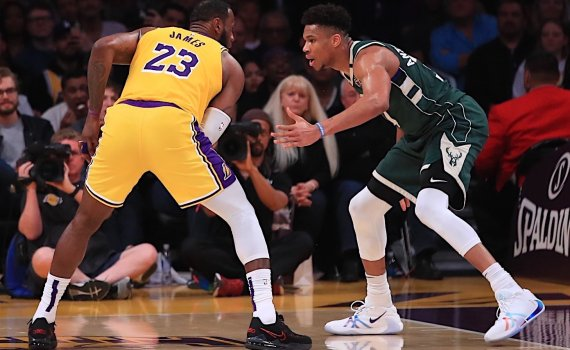 LeBron VS Giannis