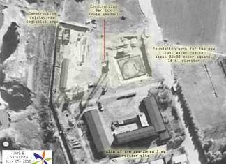 yongbyon nuclear facility eros B satellite photo