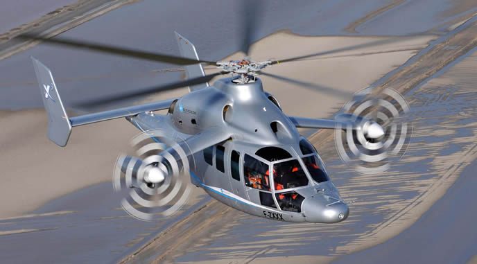 The X3 technology demonstrator developed by Eurocopter could well fit the US Army JMR Phase 1 requirements.