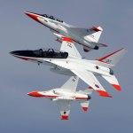 TA-50 breaking formation. Photo: KAI